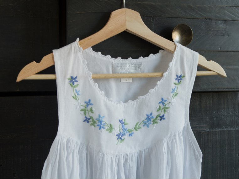 Hand-Embroidered Nightgown by Haiti Projects - 2