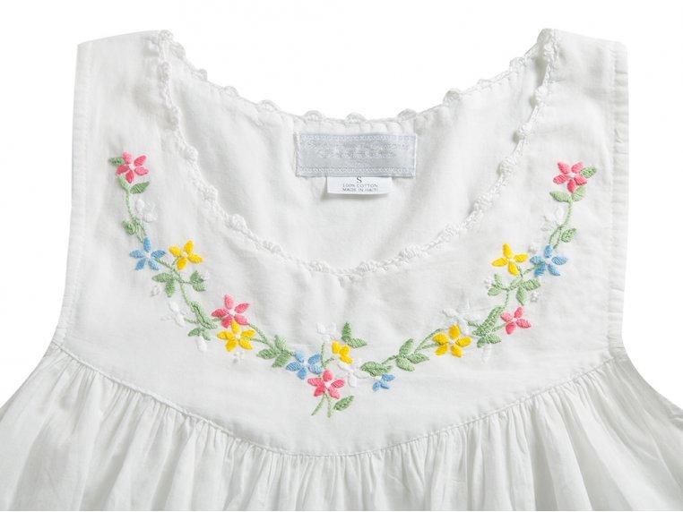 Hand-Embroidered Nightgown by Haiti Projects - 8
