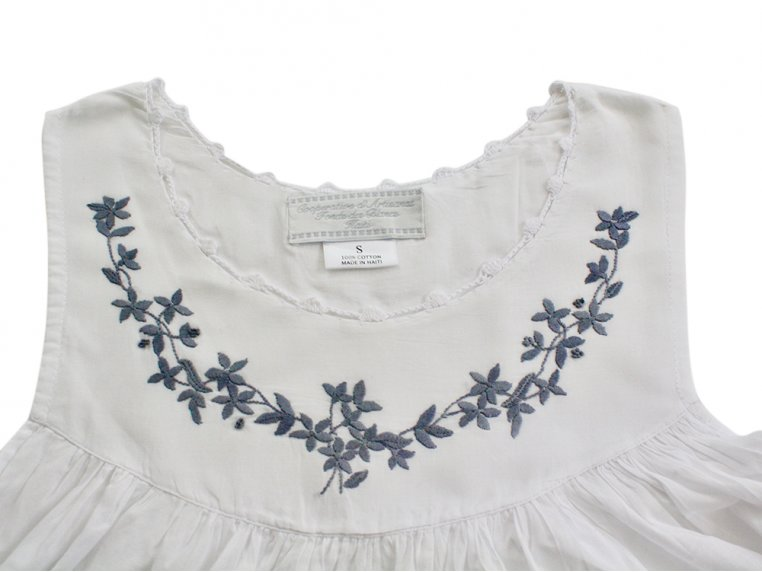 Hand-Embroidered Nightgown by Haiti Projects - 10