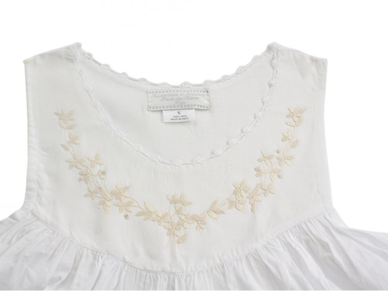 Hand-Embroidered Nightgown by Haiti Projects - 11