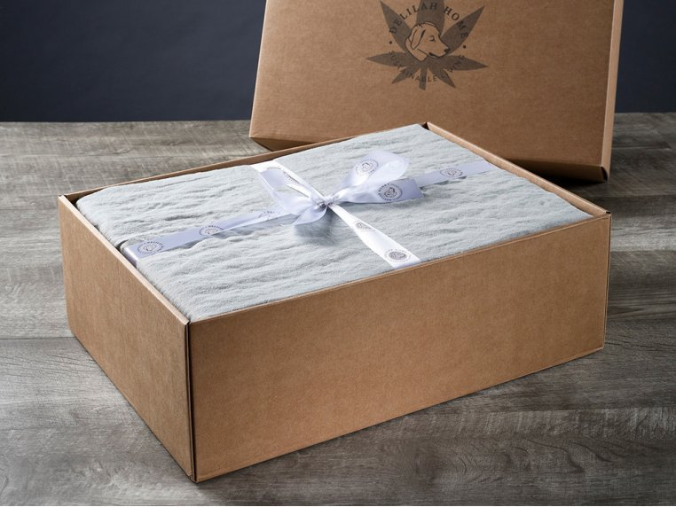 100% Organic Hemp Bed Sheets by Delilah Home - 2