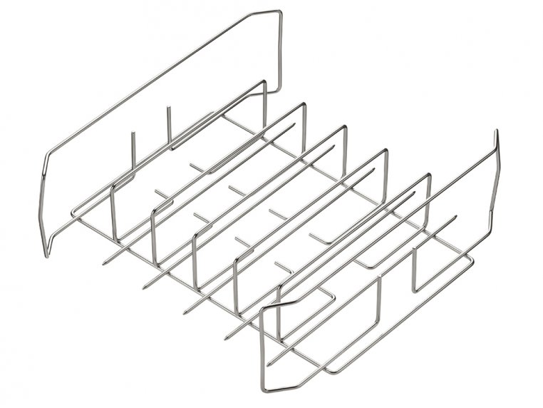 Wing, Drumstick & Ribs Grill Rack by Best South BBQ - 6