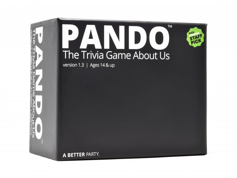 Adult Trivia Game About You by PANDO™ - 2