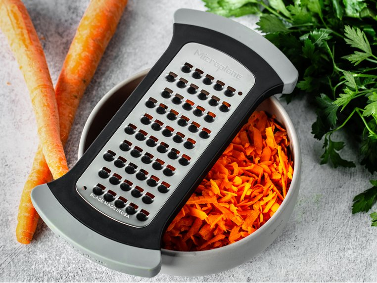 Bowl Grater & Premium Classic Zester by Microplane - 4