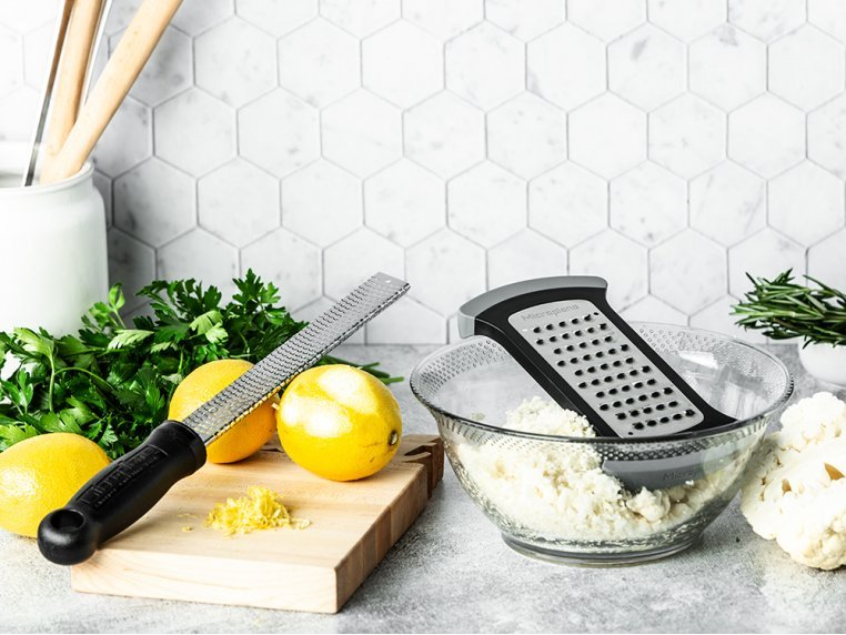 Bowl Grater & Premium Classic Zester by Microplane - 1