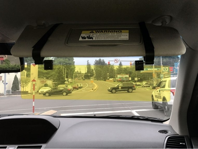 Car Visor Extender by Glare Guard - 2