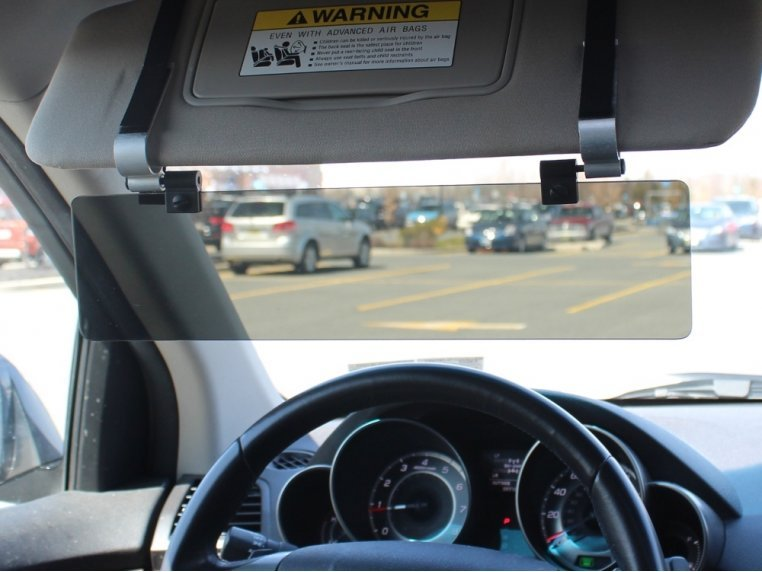 Car Visor Extender by Glare Guard - 1