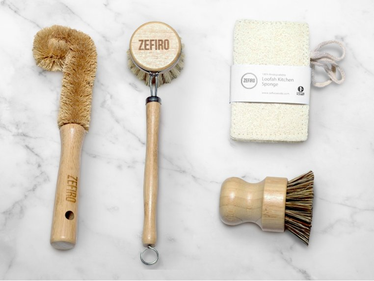 Sustainable Kitchen Cleaning Set by Zefiro - 1