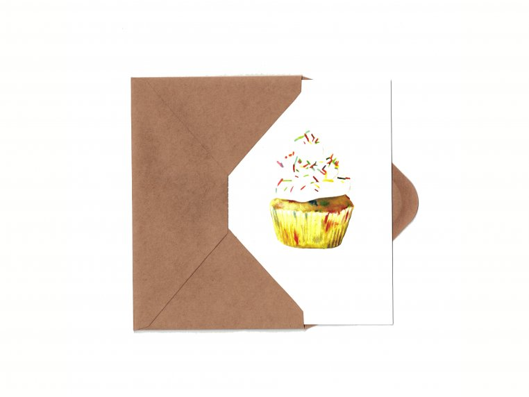 Detachable Recipe Birthday Card Set by Happy Cooking Cards - 24