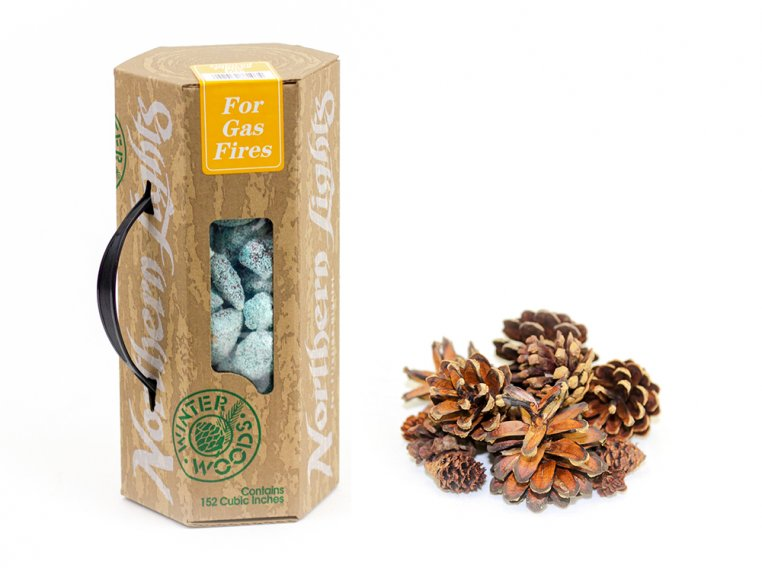Pinecone Potpourri & Fire Color Set by Winter Woods - 5