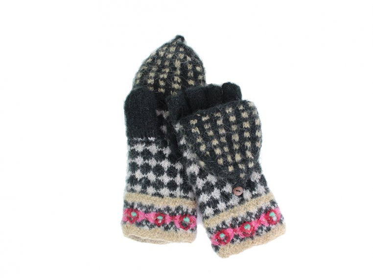 Rita Convertible Mittens by French Knot - 2