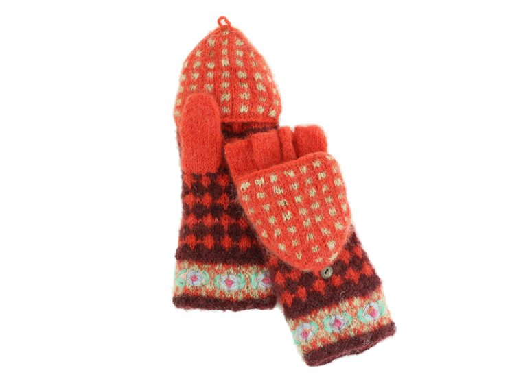 Rita Convertible Mittens by French Knot - 3