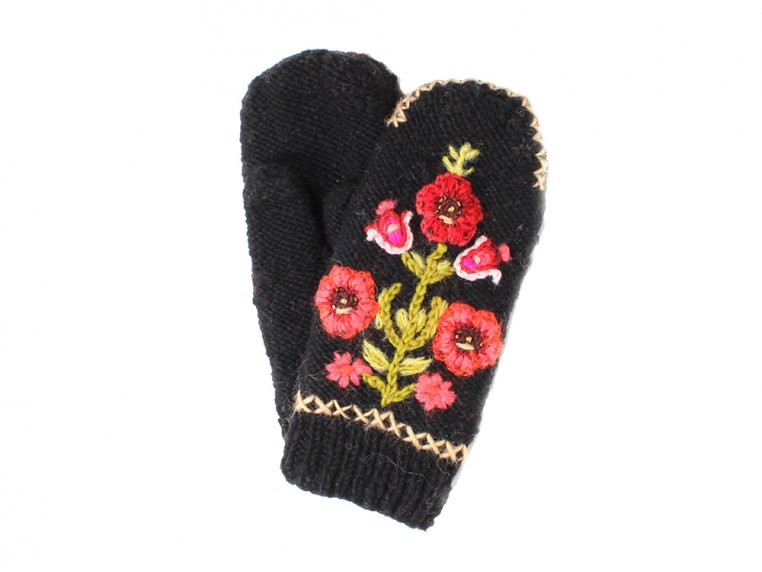 Hazel Mittens by French Knot - 2