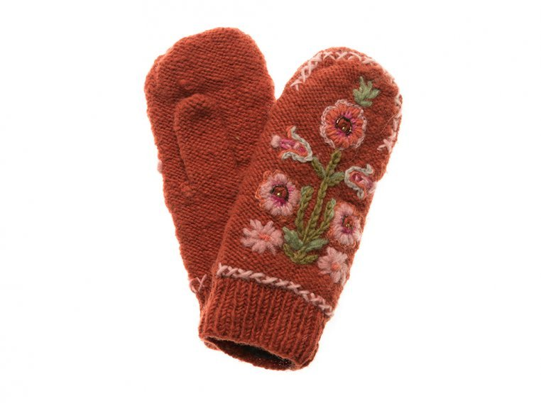 Hazel Mittens by French Knot - 5