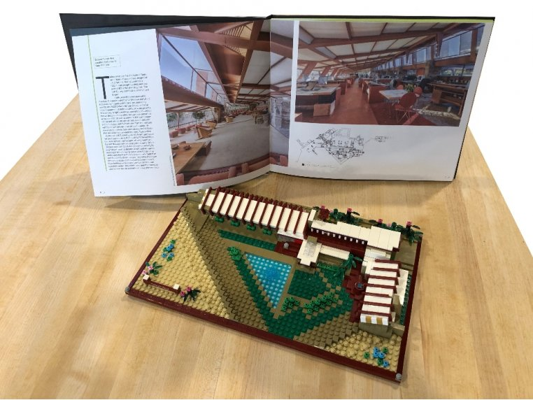 Architecture Model Building Kit by The Atom Brick - 2