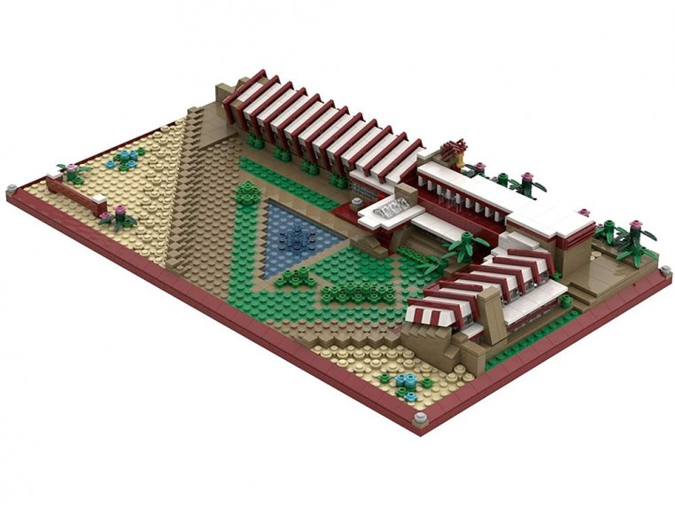 Architecture Model Building Kit by The Atom Brick - 5