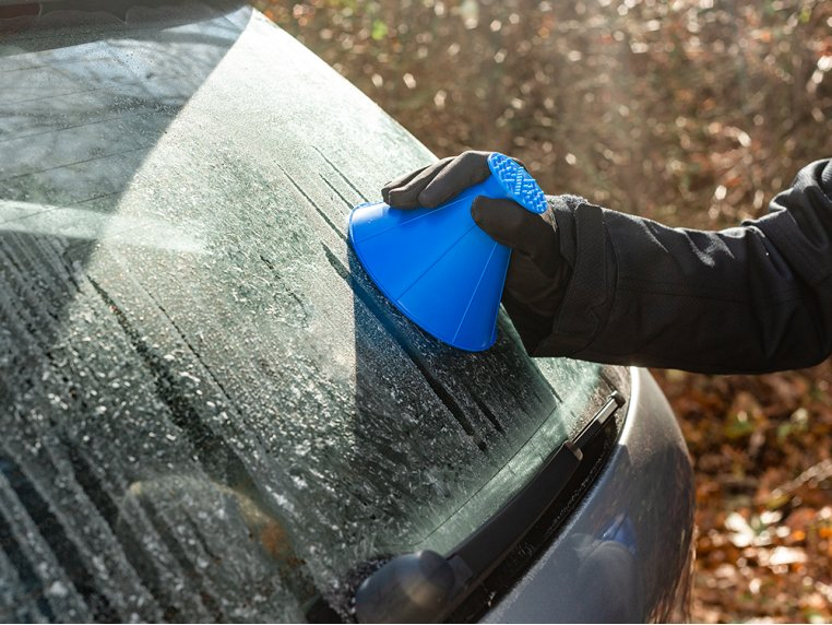 Windshield Ice Scraper by Scrape-A-Round - 1