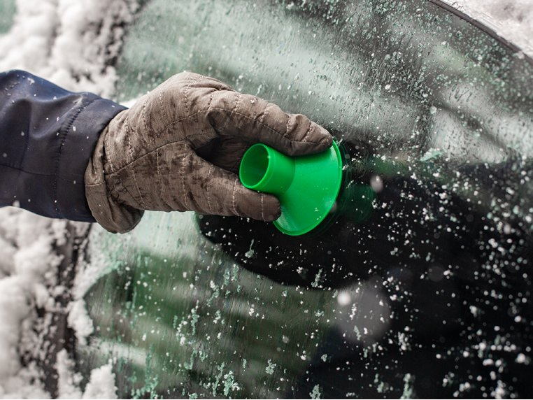 Windshield Ice Scraper by Scrape-A-Round - 6