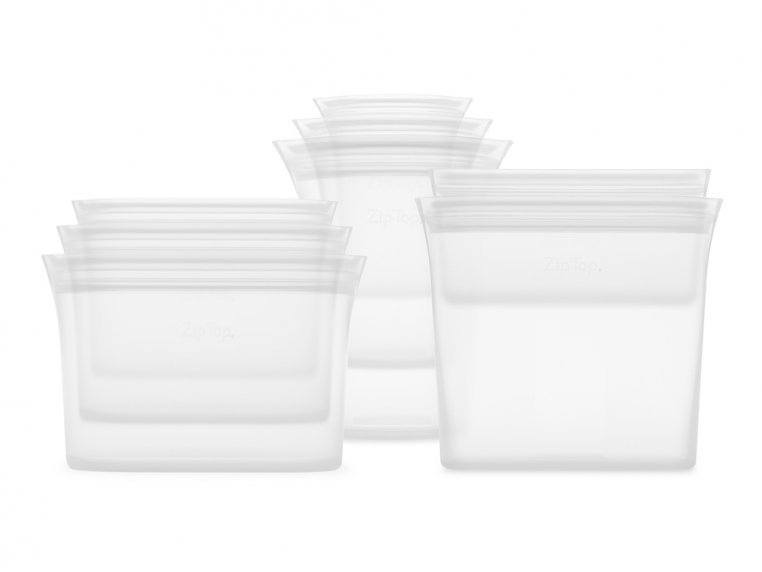 Reusable Silicone Container Set by Zip Top - 7
