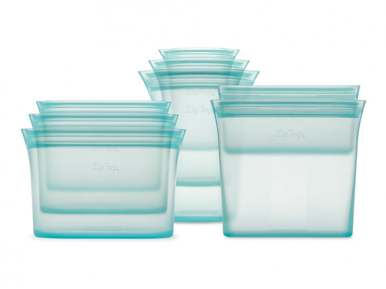 Reusable Silicone Container Set by Zip Top - 8