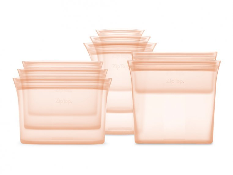 Reusable Silicone Container Set by Zip Top - 9