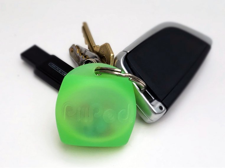 PillPod Soft Silicone Pill Case by OlogyCo Inc. - 9