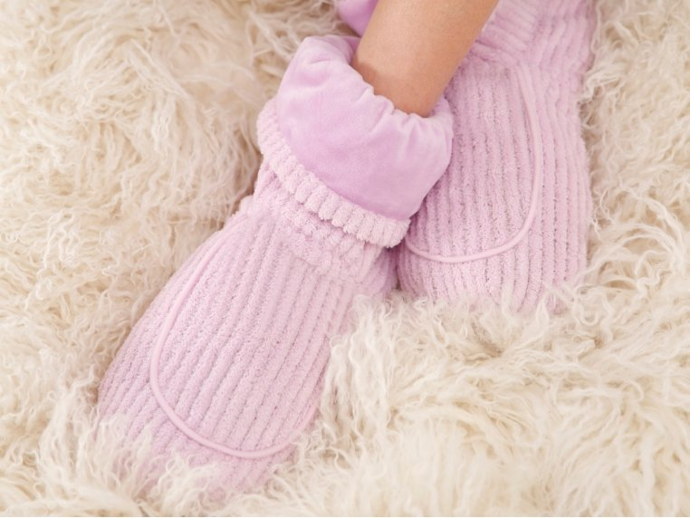 Spa Therapy Warm Slippers by Warmies - 1