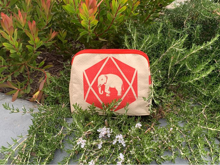 Recycled Cement Cosmetic Case by Malia Designs - 1