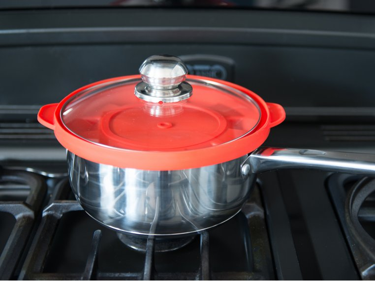 Silicone Steam Lid by The Smart Steamer Lid - 2