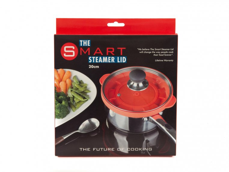 Silicone Steam Lid by The Smart Steamer Lid - 3