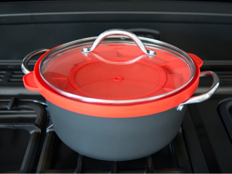 Silicone Steam Lid by The Smart Steamer Lid - 1