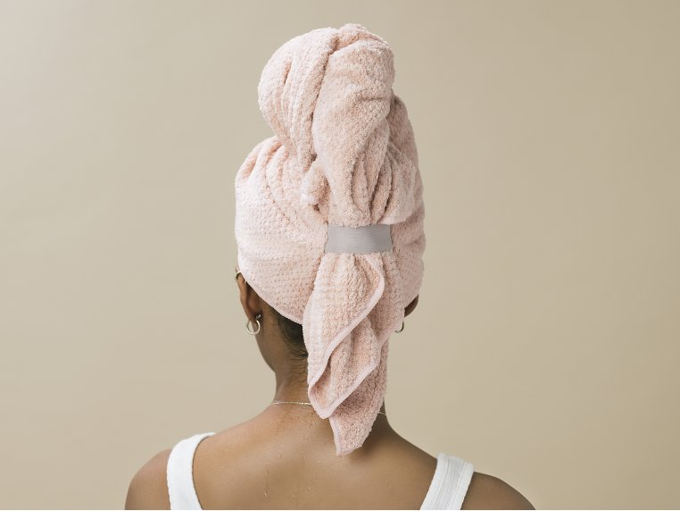 Microfiber Quick Dry Hair Towel by VOLO Beauty - 3
