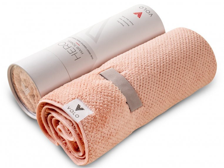Microfiber Quick Dry Hair Towel by VOLO Beauty - 6