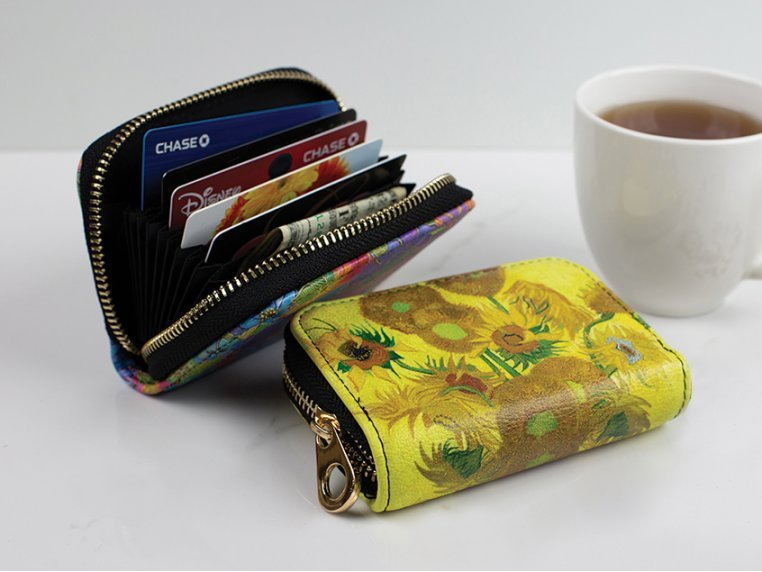 Artistic RFID Zipper Wallet by Monarque - 1