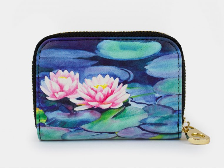 Artistic RFID Zipper Wallet by Monarque - 3