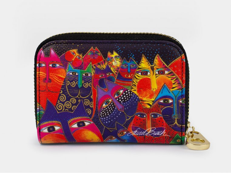 Artistic RFID Zipper Wallet by Monarque - 6