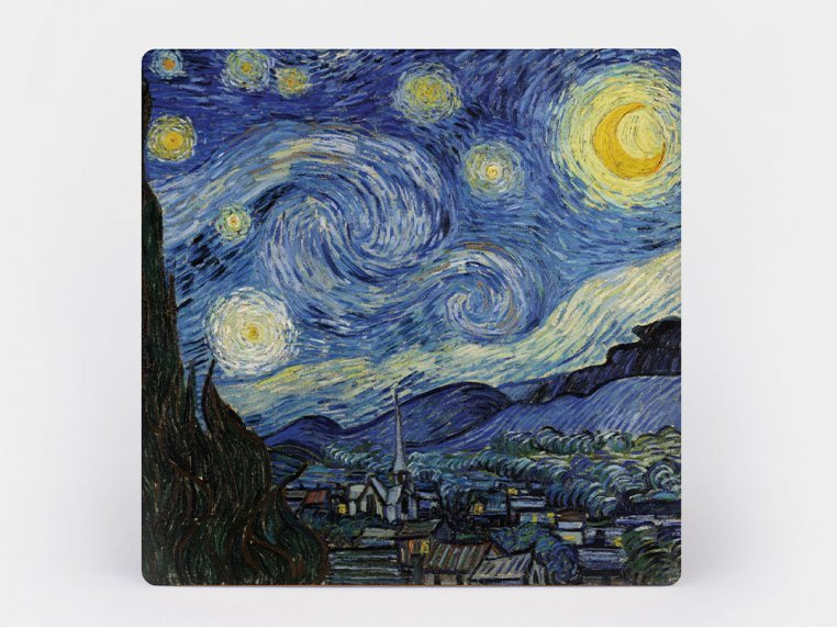Artistic Coaster - 4-Pack by Monarque - 4