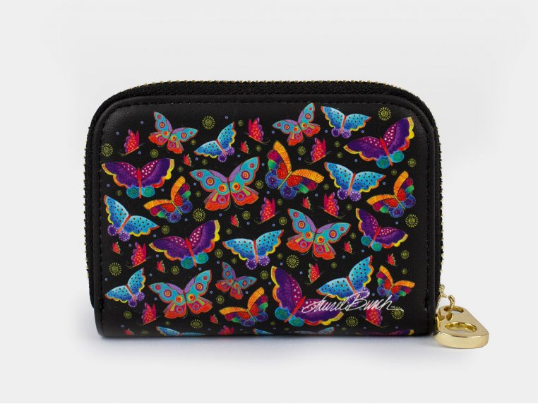 Artistic RFID Zipper Wallet by Monarque - 9