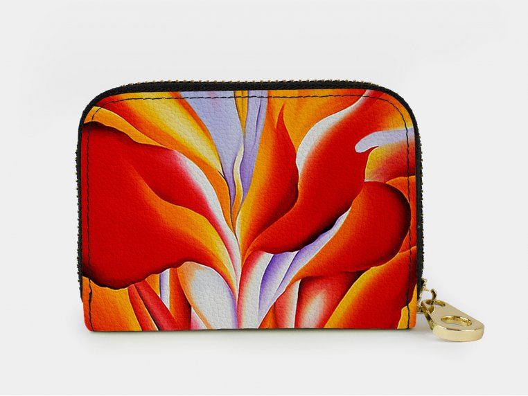 Artistic RFID Zipper Wallet by Monarque - 11