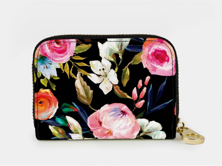 Artistic RFID Zipper Wallet by Monarque - 12