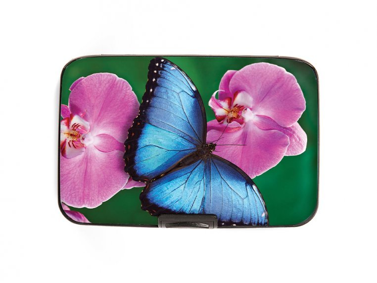 Artistic Armored Hard RFID Wallet by Monarque - 15