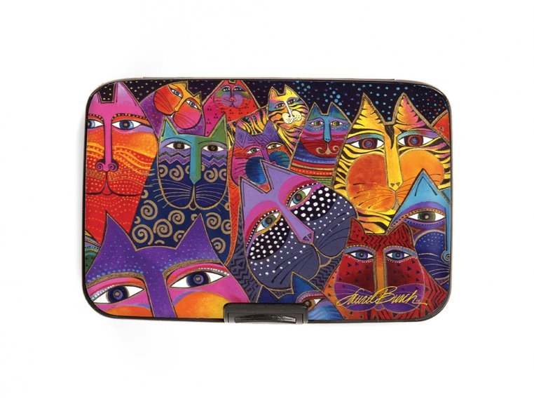 Artistic Armored Hard RFID Wallet by Monarque - 17