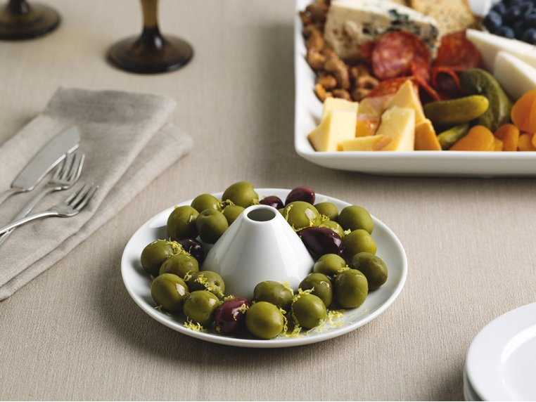 Olive Boat & Pit Port Serving Dish by corico - 2