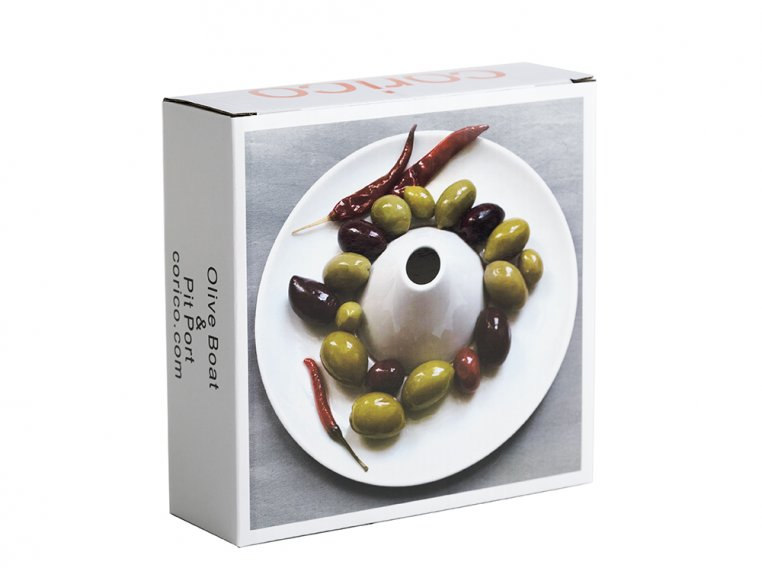 Olive Boat & Pit Port Serving Dish by corico - 5
