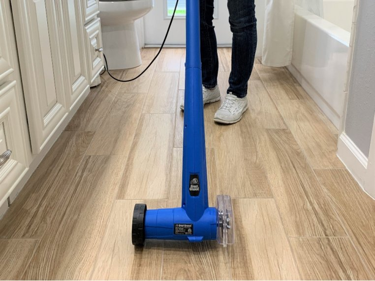 Electric Grout Cleaning Machine by GroutGroovy! - 3
