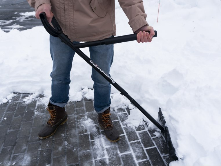 Ergonomic Back Saving Snow Shovel by NoBendz - 2