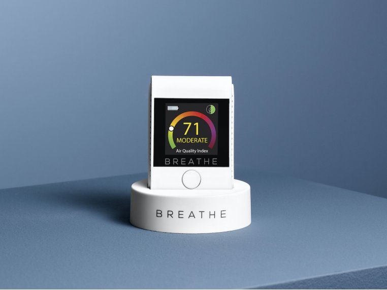 Smart Air Quality Monitor by BREATHE - 1