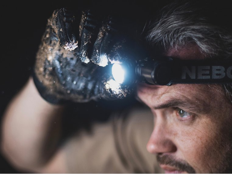 Rechargeable Headlamp & Flashlight by NEBO® - 2