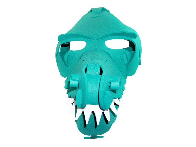 Washable Foam Animal Costume Masks by Go Fun Face - 22