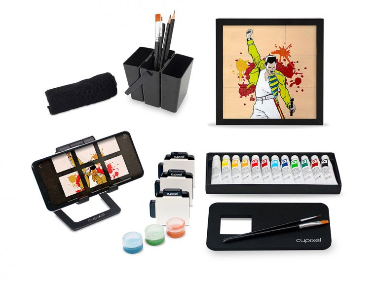 Mini Canvas Painting Box by Cupixel - 1